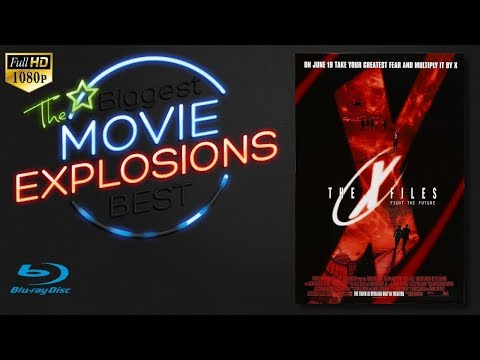 The  Best Movie Explosions: The X-Files Fight The Future (1998)  [HD Bluray Clip]