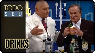 O premiado bartender Derivan de Souza apresenta alguns dos drinks mais procurados no momento por solteiros e casados.G & T, Moscow Mule e Spritz Veneziano são algumas variações de bebidas que o mestre em coquetelaria Continue assistindo mais vídeos do príncipe:Site - http://tvgazeta.com.br/todoseuTwitter - http://twitter.com/todoseuFacebook - http://facebook.com/ProgramaTodoSeuInstagram - http://instagram.com/ProgramaTodoSeu