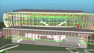 Modélisation 3D de l'amphithéâtre de Québec