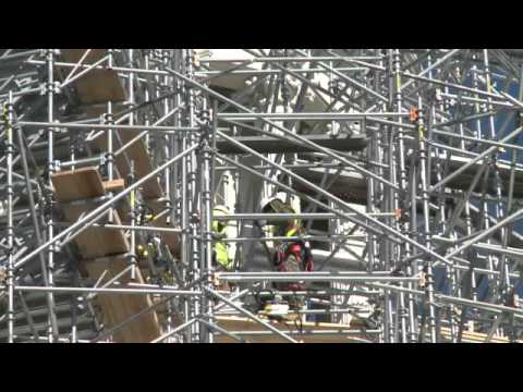 Washington DCs Capitol dome restoration kicks off.