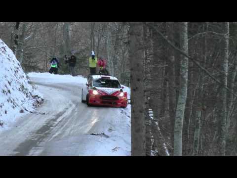 Vídeo salida de pista Robert Kubica WRC Rallye MonteCarlo 2016