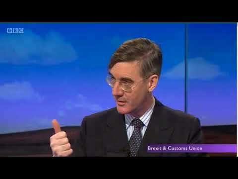 Daily Politics: Rees-Mogg attacks CBI's customs union stance
