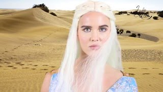 Daenerys make up. Hair and Costume. In this tutorial we show you how to look like Daenerys Targaryen from Game of Thrones. First we show you how to fake a sp...