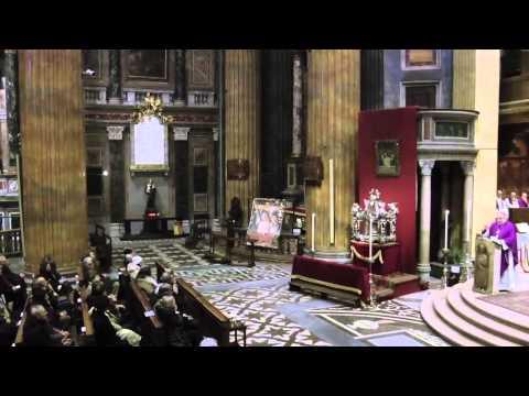 Liturgia delle Ceneri, presieduta da mons. Brambilla