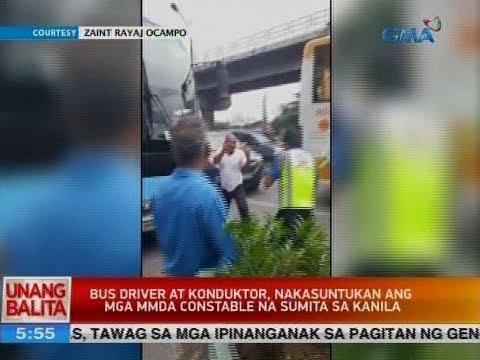 Video UB: Bus driver at konduktor, nakasuntukan ang mga MMDA constable na sumita sa kanila download in MP3, 3GP, MP4, WEBM, AVI, FLV January 2017