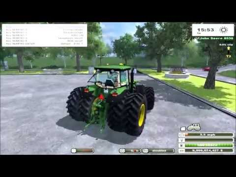 John Deere 8530 Powershift v2.0 MR