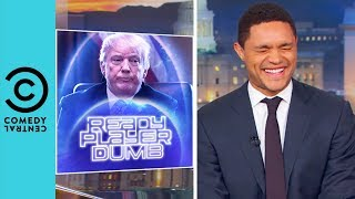 Video Trump Takes On Video Game Violence | The Daily Show With Trevor Noah MP3, 3GP, MP4, WEBM, AVI, FLV Maret 2018