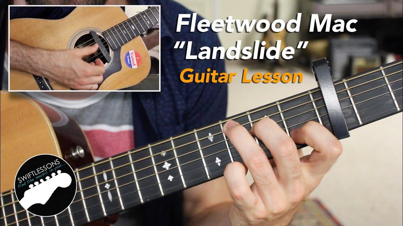 "Fleetwood Mac ""Landslide"" – Acoustic Fingerstyle Guitar Lesson"
