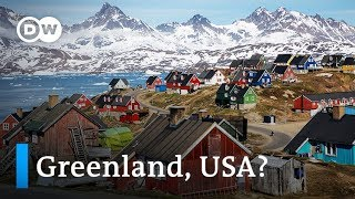 Video How far-fetched is Trump's plan to buy Greenland? | DW News MP3, 3GP, MP4, WEBM, AVI, FLV Agustus 2019
