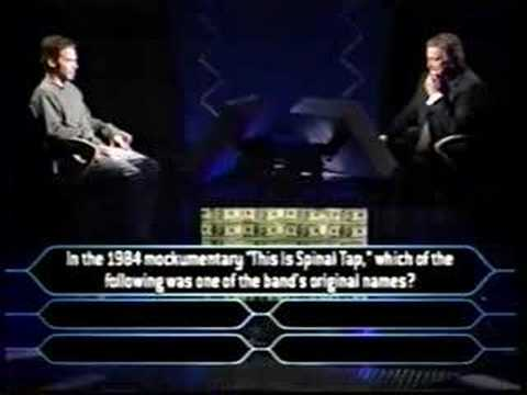 3/3 Seth Green on Millionaire (comedy edition)