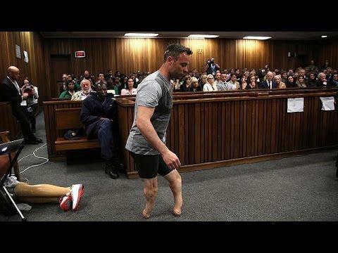 Χωρίς τα προσθετικά του πόδια στο δικαστήριο ο Πιστόριους