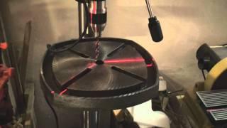 Short review of Hitachi drill press B16RM (B 16 RM, B16 RM)