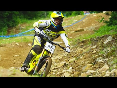 downhill mtb finals highlights - mont sainte anne