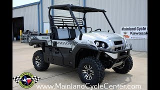 3. $14,999:  2018 Kawasaki Mule Pro FXR Atomic Silver Overview and Review