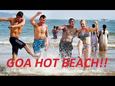 Video Amazingly Beautiful & Hot Beach of GOA-GOA VLOG-Candolim Beach GOA-Fun & Food Unlimited!!! download in MP3, 3GP, MP4, WEBM, AVI, FLV January 2017
