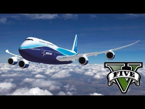 كيف يمكنك سرقة طائرة 747 في لعبة GTA V ؟؟