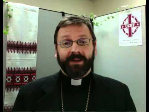 Patriarch Sviatoslav Shevchuk visits UCEF offices