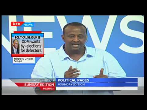 Sunday Edition: Is ODM's move to discipline defecting members right? 25/9/2016