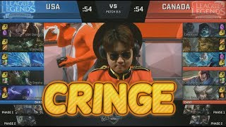 Video [CRINGE] USA (ClakeyD Darius) VS Canada (Wildturtle Yasuo) Highlights - 2018 NA LCS CIVIL WAR MP3, 3GP, MP4, WEBM, AVI, FLV Agustus 2018