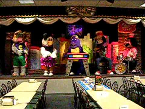 Live Music Show - Animatronic Bands