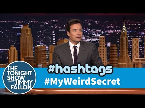 hashtag - In light of several NSA spying controversies, Jimmy reads his favorite tweets with the hashtag #MyWeirdSecret. Subscribe NOW to The Tonight Show Starring Jim...