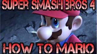 Basic / Semi Advanced Mario Guide – Super Smash Bros Wii U And 3DS