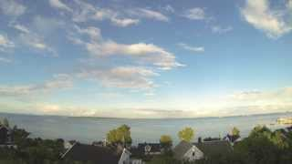 Asgardstrand Norway  city pictures gallery : Åsgårdstrand timelapse