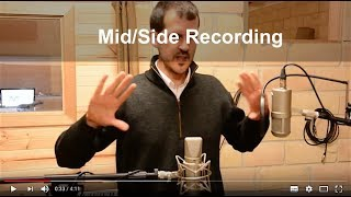 Mid Side Recording Techniques.