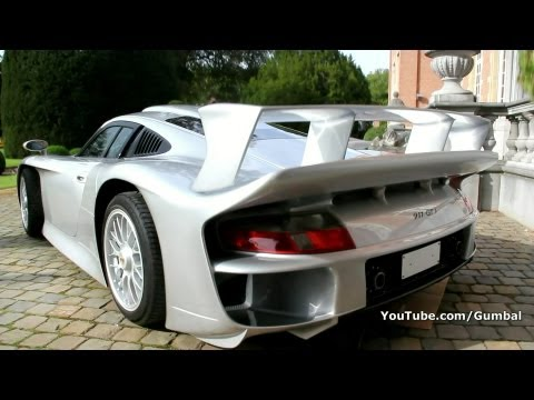 rare porsche 911 gt1 street version up for auction photos. Black Bedroom Furniture Sets. Home Design Ideas