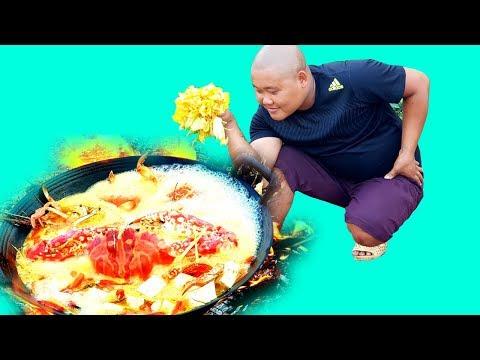 Ẩm Thực | Nồi Lẩu Hải Sản Khổng Lồ | Sơn Dược Vlogs #94 - Thời lượng: 21 phút.