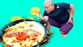 Ẩm Thực | Nồi Lẩu Hải Sản Khổng Lồ | Sơn Dược Vlogs #94