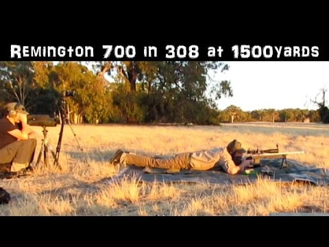 Remington 700 svf .308 at 1500 yards