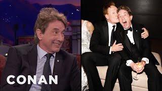 Video Martin Short & Conan Are Regulars At The Vanity Fair Oscar Party  - CONAN on TBS MP3, 3GP, MP4, WEBM, AVI, FLV Juni 2018