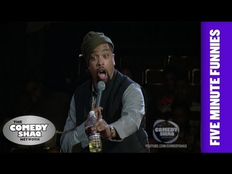 Deray Davis⎢Women say the most hurtful things⎢Shaq's Five Minute Funnies⎢Comedy Shaq