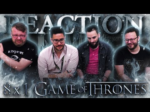 """Game of Thrones 8x1 REACTION!! """"Winterfell"""""""