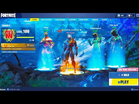 How to ACCESS free NEW SKINS in Fortnite! - HIDDEN SKINS in Fortnite Battle Royale (SEASON 4 UPDATE)