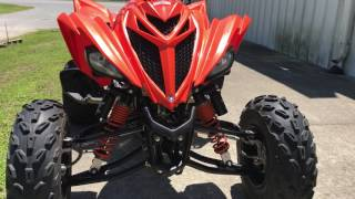 8. 2017 Yamaha Raptor 700 Blaze Orange