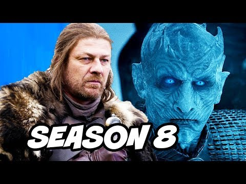Game of Thrones Season 8 Prequel and Ned Stark Final Scene Explained (видео)