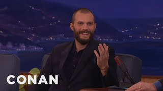 Video Jamie Dornan Puts On An American Accent At In-N-Out  - CONAN on TBS MP3, 3GP, MP4, WEBM, AVI, FLV Januari 2018