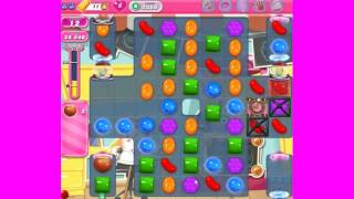 Candy Crush Saga level 2366 ~ howto make ingredients fall