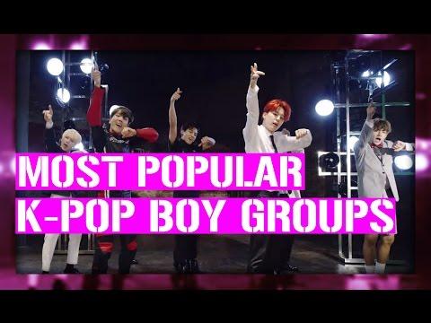 2016.07.25 – Le top 27 des groupes masculins les plus populaires sur Youtube [CLASSEMENT/VIDÉO]