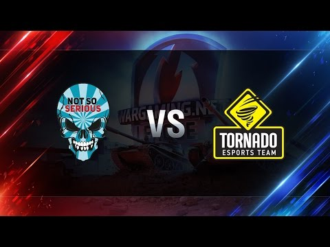 World of Tanks - Not So Serious vs Tornado Energy - WGLRU S2 2016-2017 - Semi Final #2