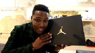 SPECIAL GIFT FROM JORDAN BRAND! & GETTING ON THE NBA ALL STAR COURT!