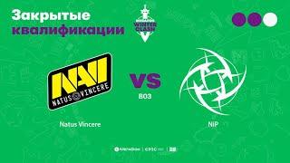 Natus Vincere vs NiP, MegaFon Winter Clash, bo3, game 1 [Maelstorm & Smile]