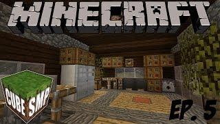 Cube SMP - Minecraft Cube SMP: Finishing the House! - Episode 5