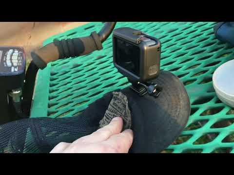 Metal Detecting video setup