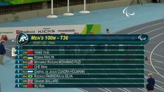 Video Ridzuan Puzi Wins and Break World Record T36 100 Meters Final Paralympics Rio 2016 Full Highlights MP3, 3GP, MP4, WEBM, AVI, FLV Oktober 2018