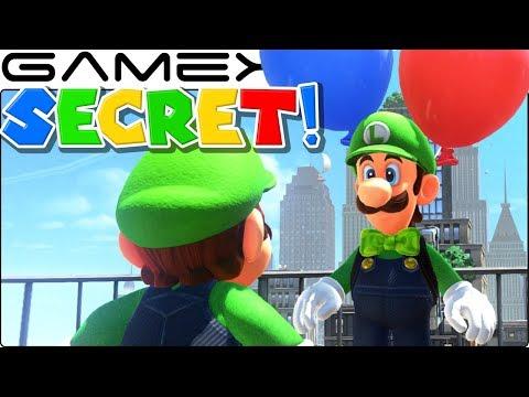 Luigi's SECRET Dialogue in Super Mario Odyssey's Balloon World DLC Update (All Costumes!) (видео)