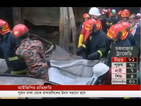 Govt pledges to compensate in Chawkbaza fire tragedy (21-02-2019) Courtesy: Independent TV