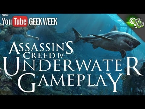 Black flags - In addition to the expanded naval game and open world, Ubisoft Singapore has added a brand new gameplay area to Assassin's Creed IV: Black Flag: underwater a...